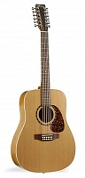 Norman PROTEGE B18-12 PRESYS Natural+Кейс 12-струнная электроакустическая гитара Dreadnought