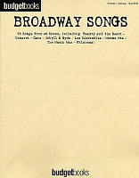HLE90001923 - BUDGETBOOKS BROADWAY SONGS (PVG)