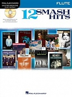 HL00119038 - Hal Leonard Instrumental Play-Along: 12 Smash Hits (Flute)
