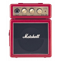 MARSHALL MS-2R MICRO AMP (RED) микрокомбо, 1 Вт