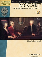 HL00296686 - W.A. Mozart: 15 Intermediate Piano Pieces - книга: Моцарт: 15 инструментальных пьес для фортепиано, 42 страницы, язык - английский