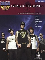HL00701906 - Guitar Play-Along Volume 134: Avenged Sevenfold - книга: Играй на гитаре один: Avenged Sevenfold, 80 страниц, язык - английский
