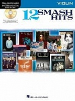 HL00119046 - Hal Leonard Instrumental Play-Along: 12 Smash Hits (Violin)