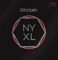 D'ADDARIO NYXL1052 струны для электрогитары, Light Top/Heavy Bottom, 10-52