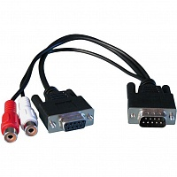 RME Digital BreakoutCable BOHDSP9652, SPDIF - 9pole SubD на 2 x Cinch Digital, 9pole SubD, для HDSP 9652, DIGI 9636, DIGI 9652 цифровой кабель