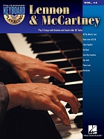 HL00700754 - Keyboard Play-Along Volume 14: Lennon & McCartney (The Beatles)- книга: Играй на фортепианно один: Леннон и Маккартни, 46 страниц, язык - английский